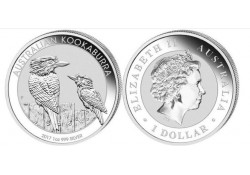 Australië 1 Dollar Kookaburra 2016 1 ounce Silver