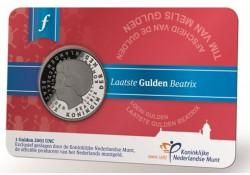 1 gulden Unc 2001 Loekie in coincard uitgegeven in 2016