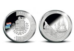 Aruba 2015 5 Florin 200 jaar koninkrijk zilver Proof