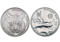 Portugal 2016 5 euro Lynx Unc