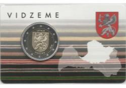 2 Euro Letland 2016 Vidzeme Bu in coincard