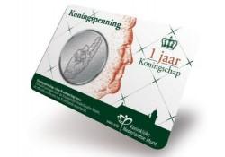 Penning Koningspenning 2014 in coincard