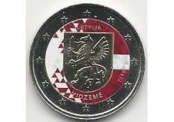 2 Euro Letland 2016 Vidzeme Gekleurd