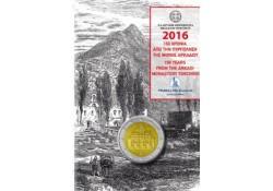 2 Euro Griekenland 2016 Arkadi  Uin Coincard