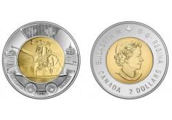 Km+??? Canada 2 Dollar 2016 Unc The battle of the Atlantic