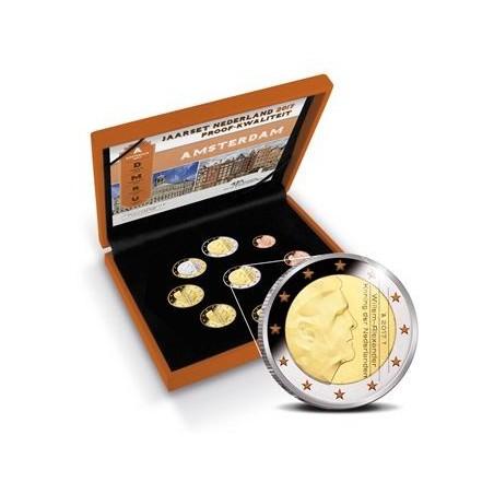 Nederland 2017 Proofset  met extra 2 euromunt Voorverkoop*