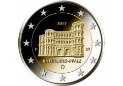 2 Euro Duitsland 2017 A Rijnlands Palts Unc Voorverkoop*