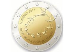 2 Euro Slovenië 2017 10 jaar Euro Unc Voorverkoop*