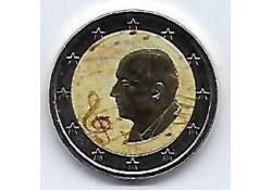 2 Euro Griekenland 2016 Dimiitri Mitropoulos  Gekleurd.
