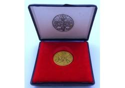 Penning Unie van Utrecht 50 Unie daalders goud