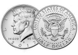KM ??? U.S.A. ½ Dollar 2017 D UNC