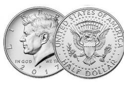 KM ??? U.S.A. ½ Dollar 2017 P UNC
