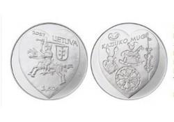 Litouwen 2017 1½ euro Casimer's fair Unc