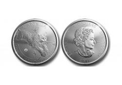 Km ??? Canada 5 dollar 2017 Lynx 1 Ounce zilver