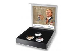 Nederland 2017 10 euro verjaardagstientje Zilver Proof Kleurset Voorverkoop*