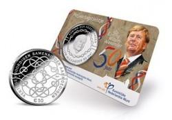 Nederland 2017 10 euro verjaardagstientje Unc  in coincard