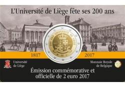 2 euro België 2017 Universiteit Luik Unc Voorverkoop*