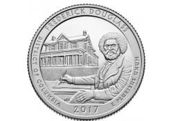 KM ??? U.S.A ¼ Dollar Frederick Douglas 2017 D UNC