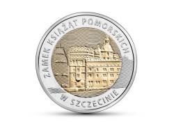 Y ??? Polen 5 Zlote 2016 Unc  Pomezanian Dukes Castle