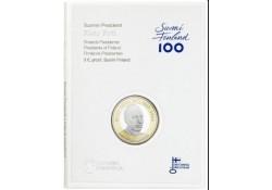 Finland 2017 5 euro  Risto Heikki Ryti 1889-1956 Unc