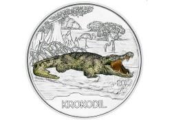 Oostenrijk 2017 3 euro Krokodil  Unc