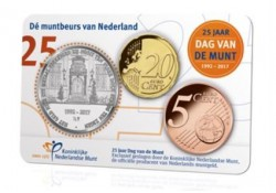 Nederland 2017 25 jaar Dag van de Munt Coincard