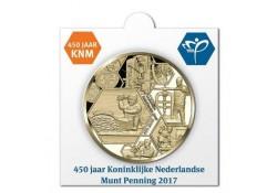 Nederland 2017 Penning 450 jaar KNM in munthouder