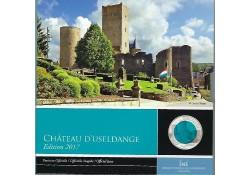 Luxemburg 2017 5 euro Château de D'usseldange