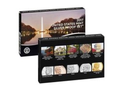 Proofsets U.S.A. 2017 S 2 pak Zilver Proof sets