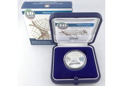 Italië 2017 10 Euro Arrchitect Del Ferro Proof