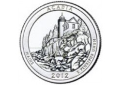 KM ??? U.S.A ¼ Dollar Acadia 2012 S UNC