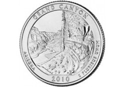 KM 472 U.S.A ¼ Dollar Grand Canyon 2010 D UNC