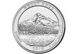 KM 473 U.S.A ¼ Dollar Mount Hood 2010 D UNC