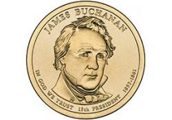 KM ??? U.S.A. 15th President Dollar 2010 P James Buchanan