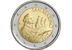 2 Euro San Marino 2017 UNC
