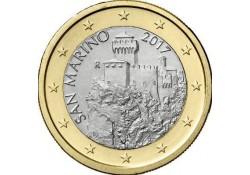1 Euro San Marino 2017 UNC