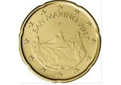 20 Cent San Marino 2017 UNC