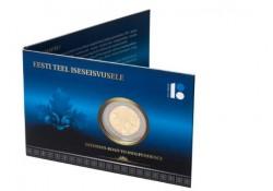2 Euro Estland 2017 Weg naar onafhankelijkheid  Bu in coincard