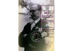 2 euro Griekenland 2017 Nikos Kazantzakis in coincard