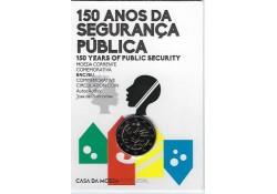 2 euro Portugal 2017 150 jaar politie Bu in coincard