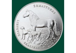 Litouwen 2017 1½ euro Litouwse Paard en honden Unc