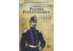 Italië 2017 5 euro Politie zilver in blister