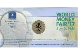 Penning World Money Fair 2017 Bank of Greece in coincard