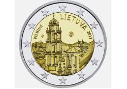 2 Euro Litouwen 2017 Vilnius stad van cultuur en kunst Unc Voorverkoop
