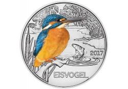Oostenrijk 2017 3 euro Ijsvogel Unc