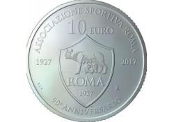 San Marino 2017 5 euro 90 jaar  Rome sports Association Zilver BU