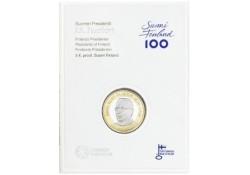 Finland 2017 5 euro  J.K. Paasikivi 1870-1956 Proof