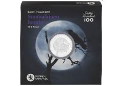 Finland 2017 10 euro Finse Natuur Proof