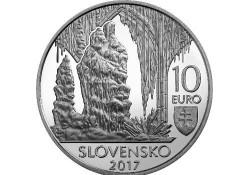 10 Euro Slowakije 2017 Grotten van Karst Proof