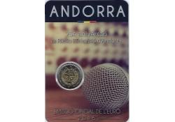 2 Euro Andorra 2016 Radio BU in Blister